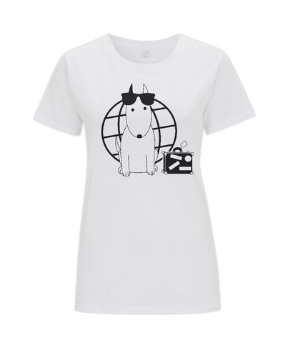 Women's T-Shirt Rocky the Traveller Summer Tourist