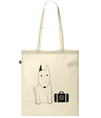 Rocky the Traveller Business Class Classic Shopper Tote Bag