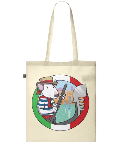 Italy Classic Shopper Tote Bag