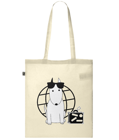 Rocky the Traveller Summer Tourist Classic Shopper Tote Bag