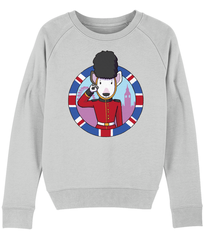 Women's bully sweatshirt UK (light grey)