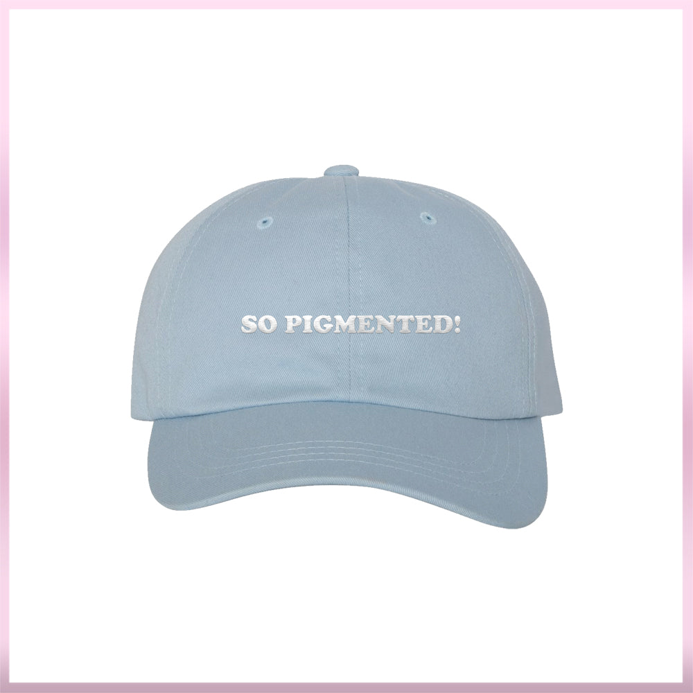 So Pigmented Blue Hat