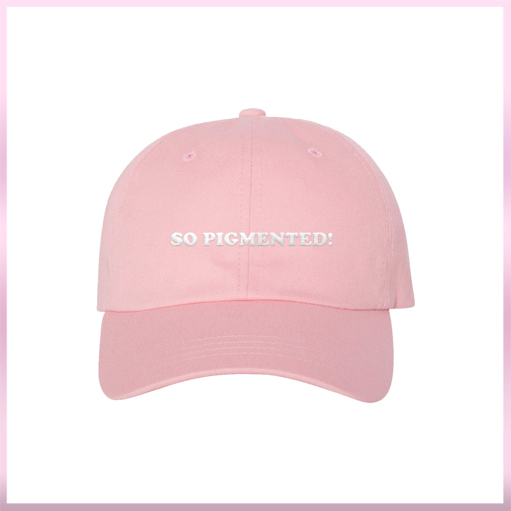 So Pigmented Pink Hat