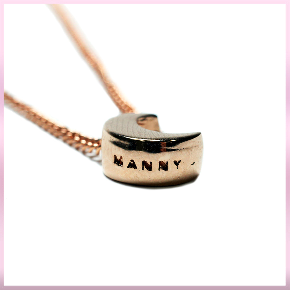 Manny MUA Rose Gold Necklace