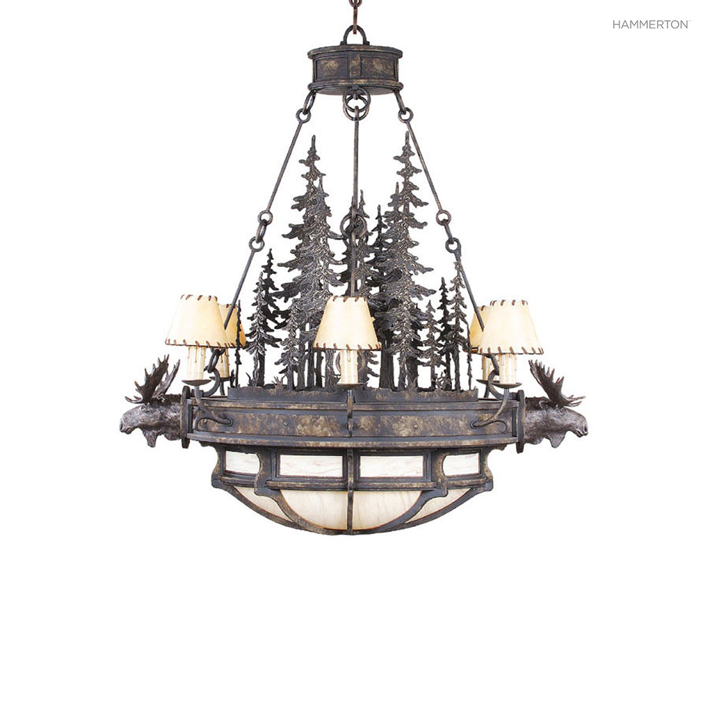 CH6026 Log and Timber Chandelier