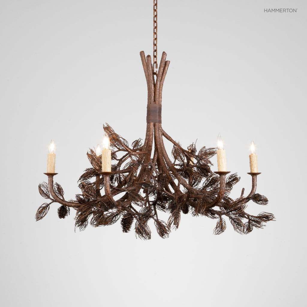 CH7001-L Log and Timber Chandelier
