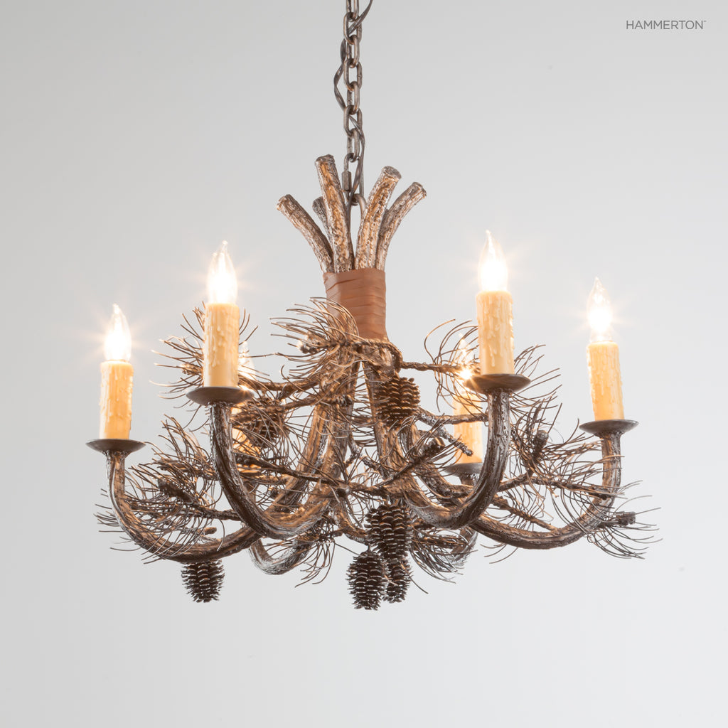 CH7001-S Log and Timber Chandelier