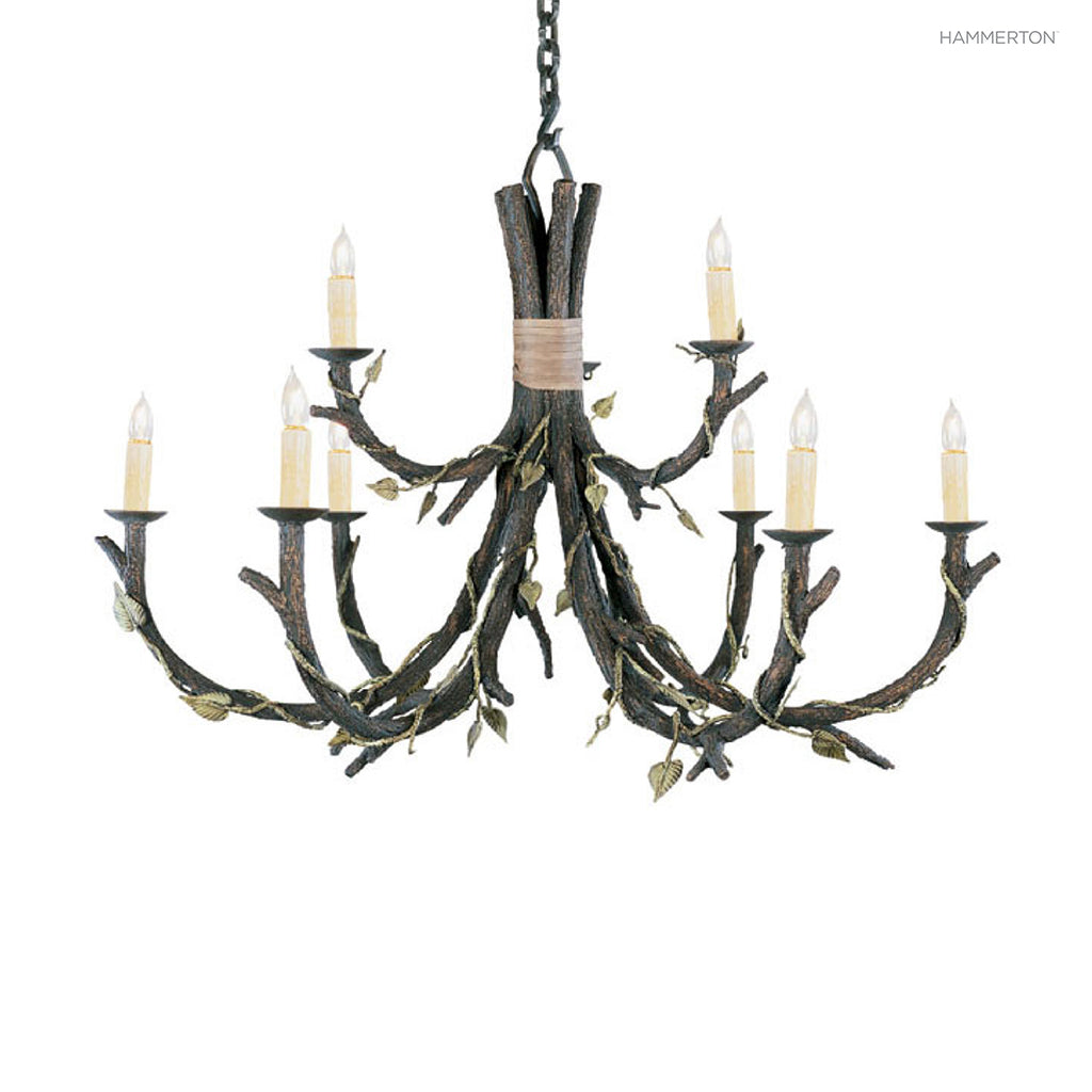 CH7002-L Log and Timber Chandelier