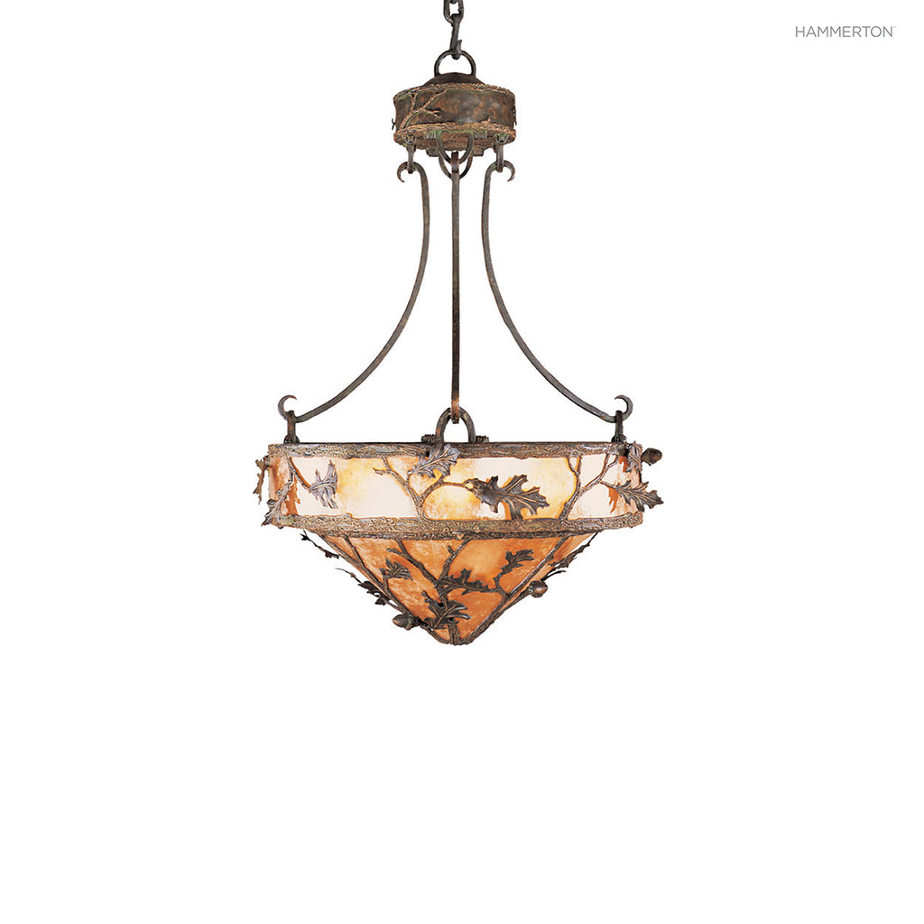 CH7021-M Log and Timber Chandelier