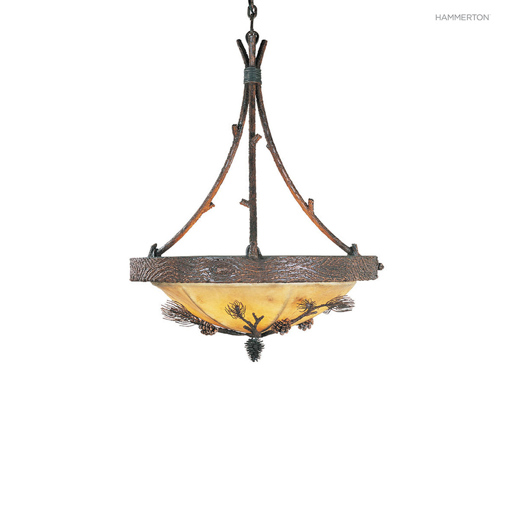 CH7025-S Log and Timber Chandelier