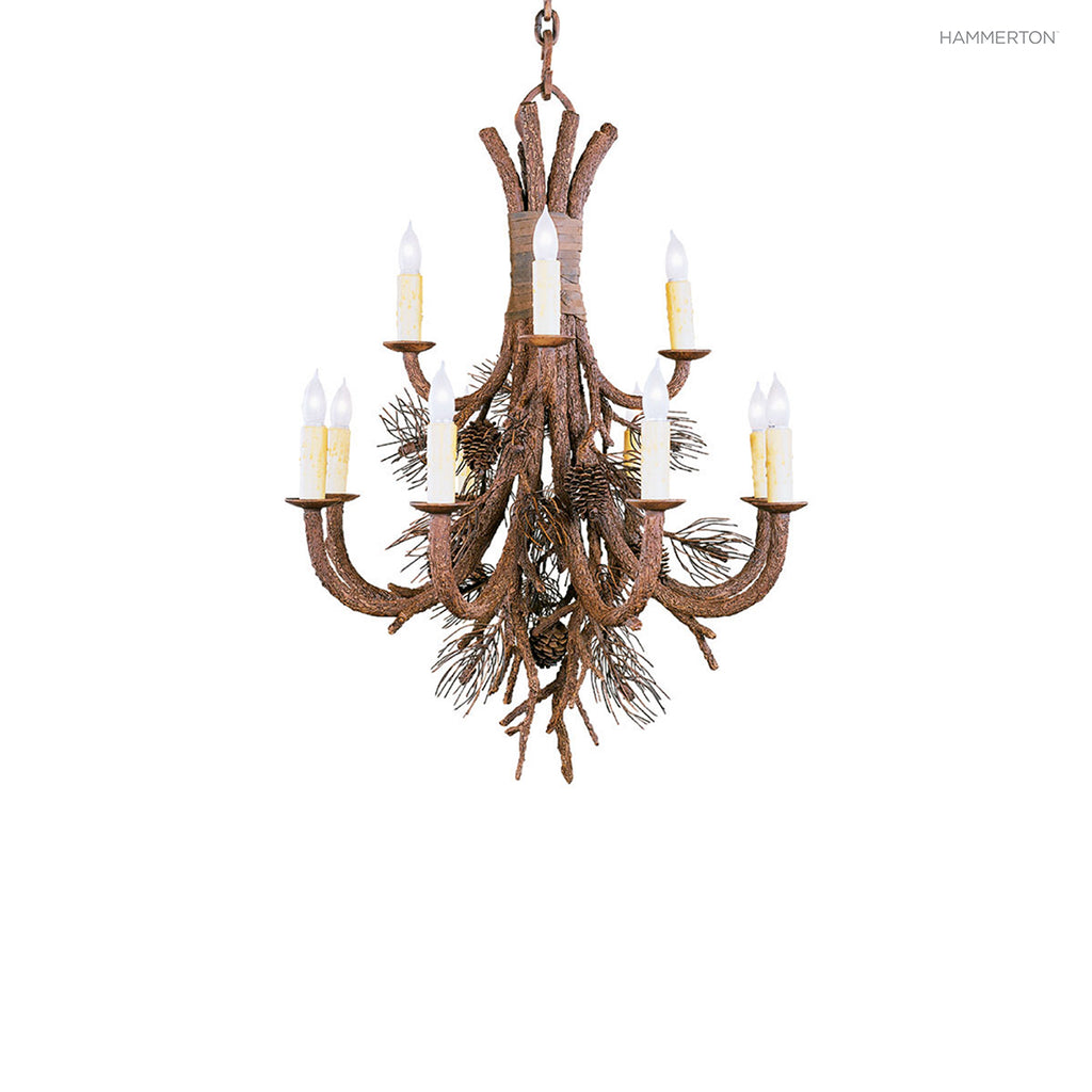 CH7090 Log and Timber Chandelier