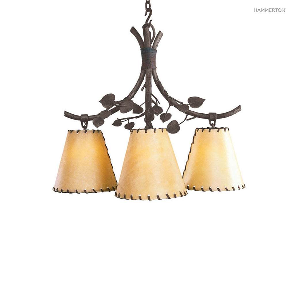 CH7091 Log and Timber Chandelier