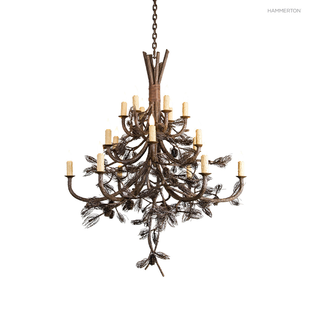 CH7109 Log and Timber Chandelier