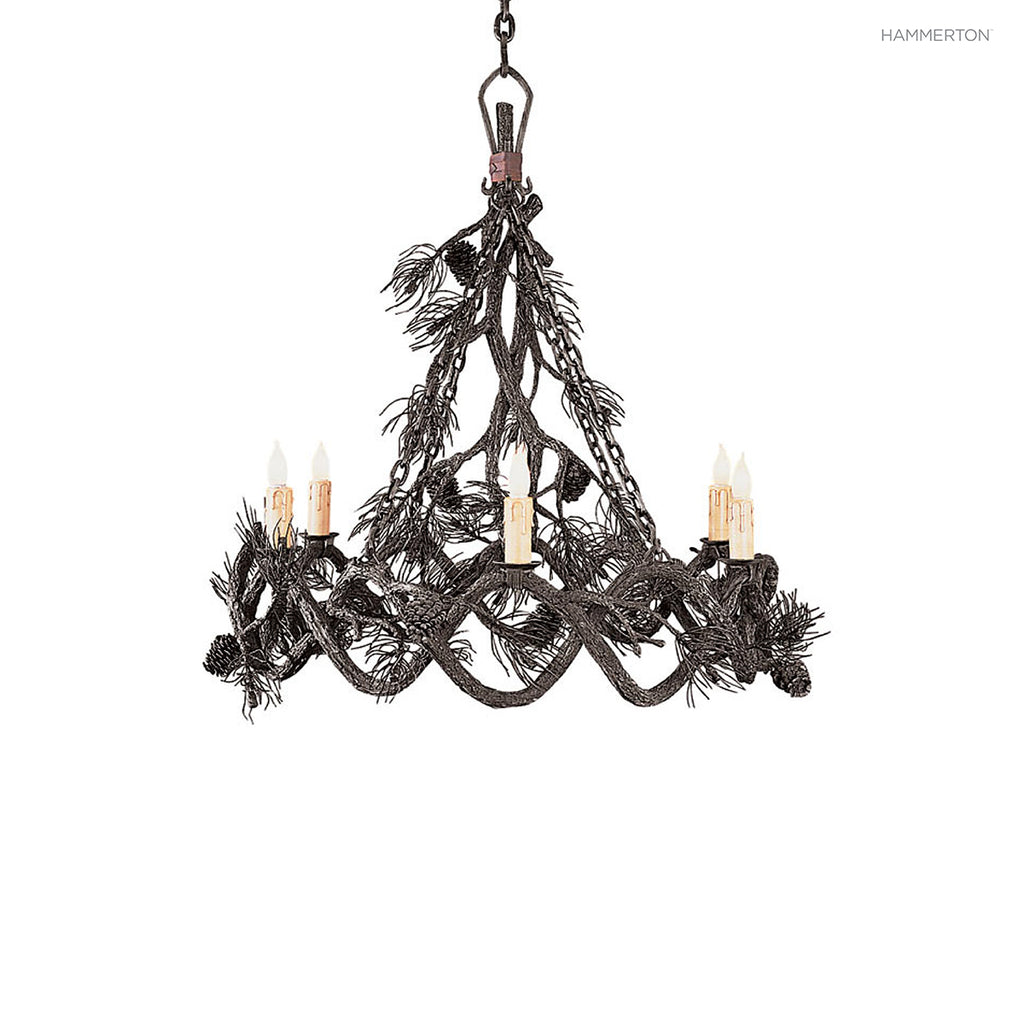 CH7135 Log and Timber Chandelier