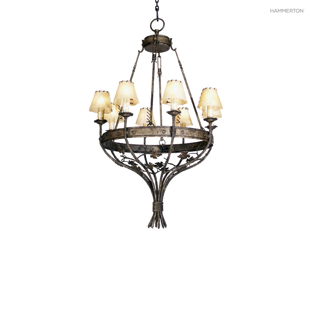 CH7143 Log and Timber Chandelier
