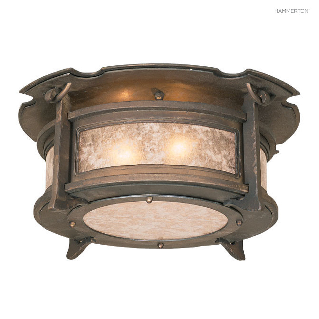 CL6004-M Log and Timber Semi-Flush