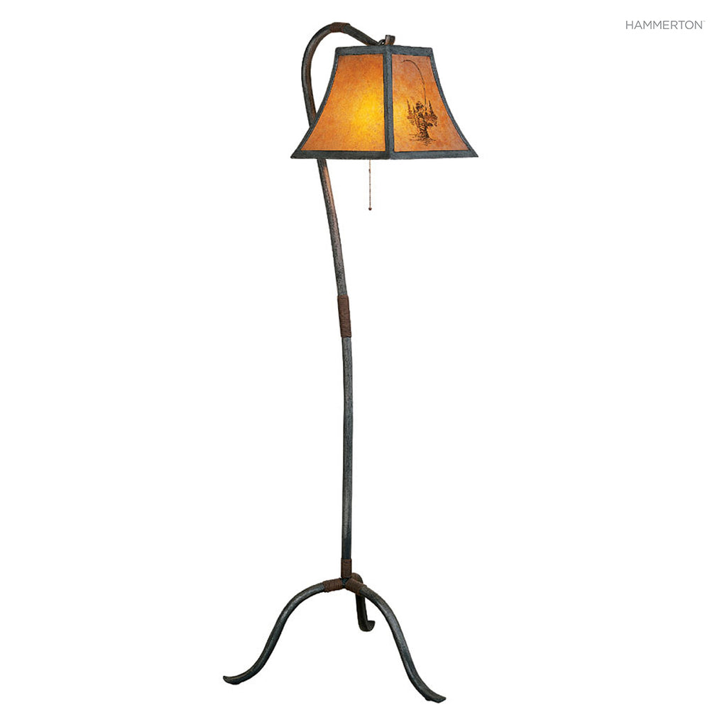 FL4007 Log and Timber Floor Lamp