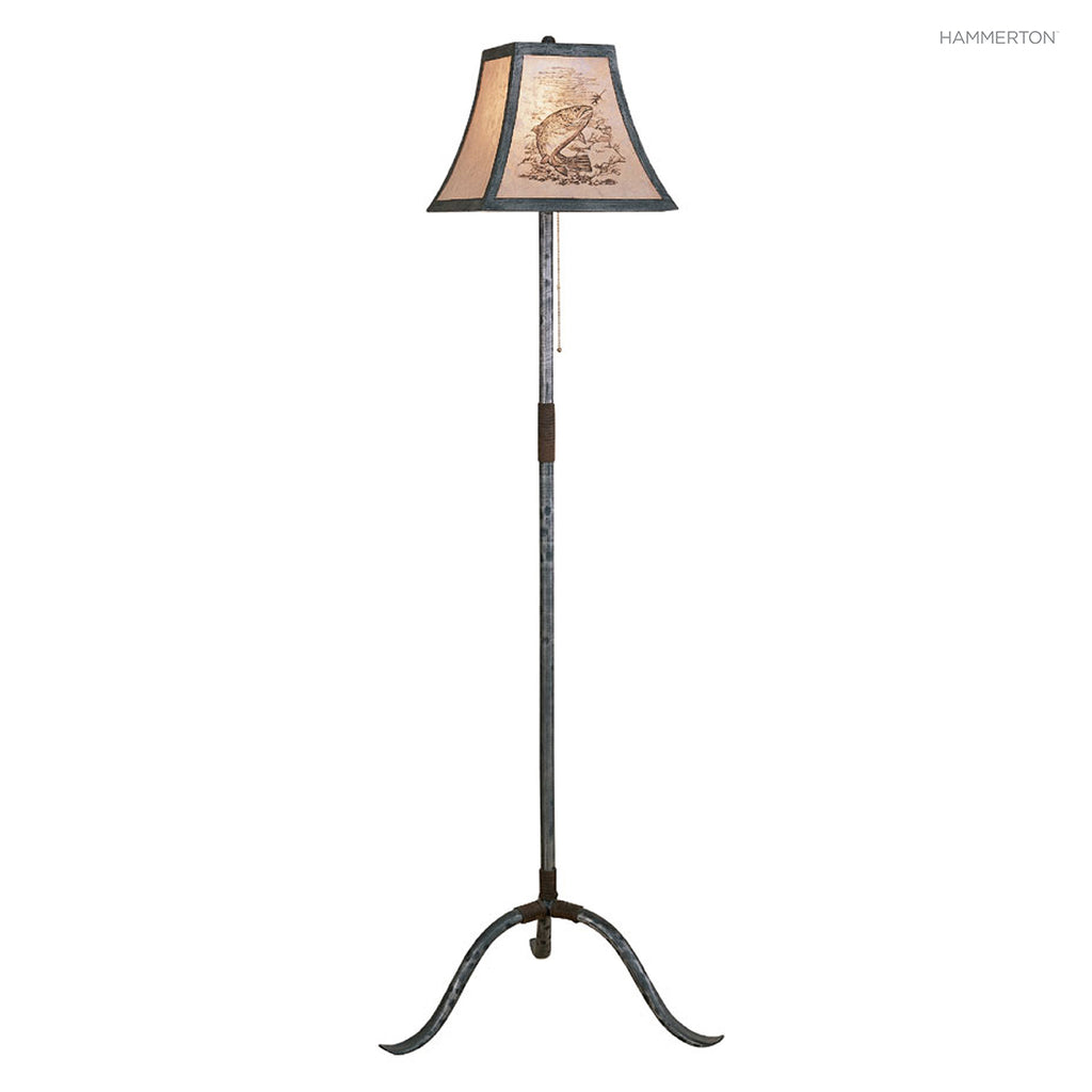 FL4009 Log and Timber Floor Lamp