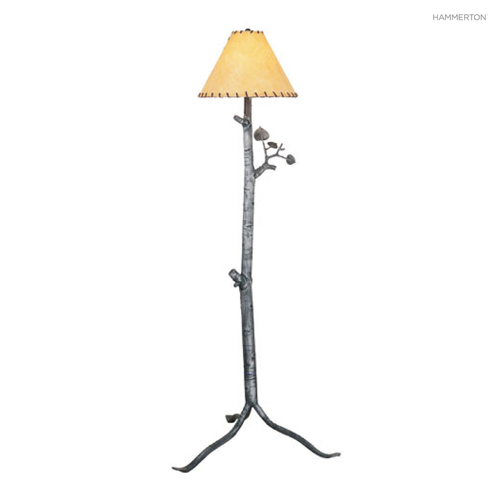 FL7015 Log and Timber Floor Lamp