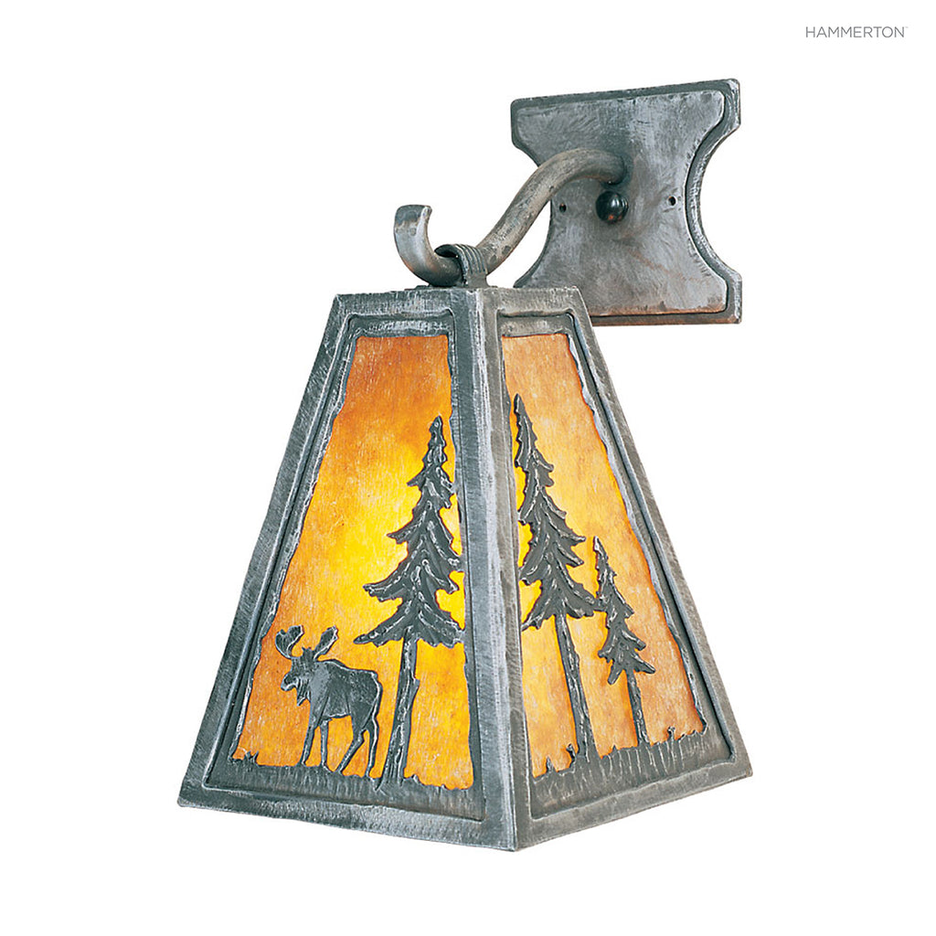 ID6006 Log and Timber Sconce