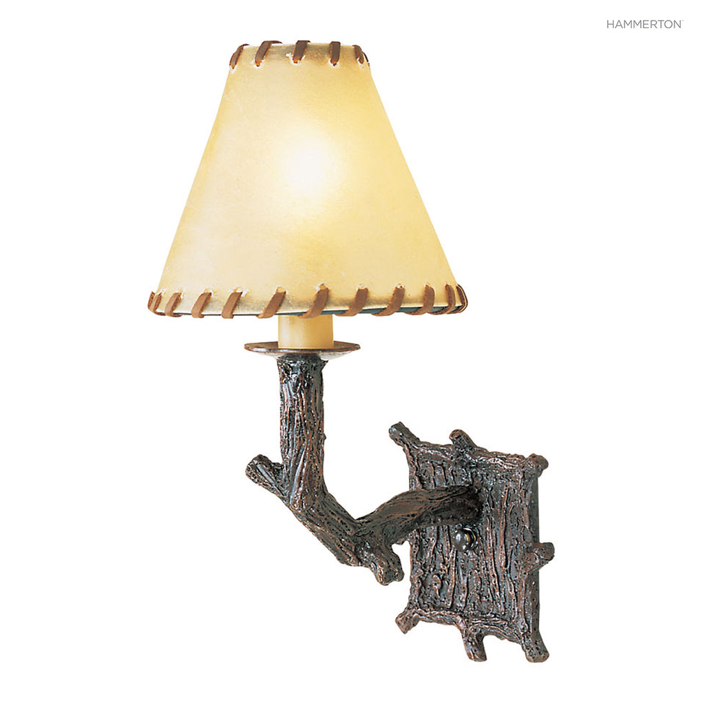 ID7012 Log and Timber Sconce