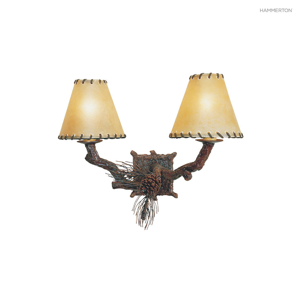 ID7013 Log and Timber Sconce