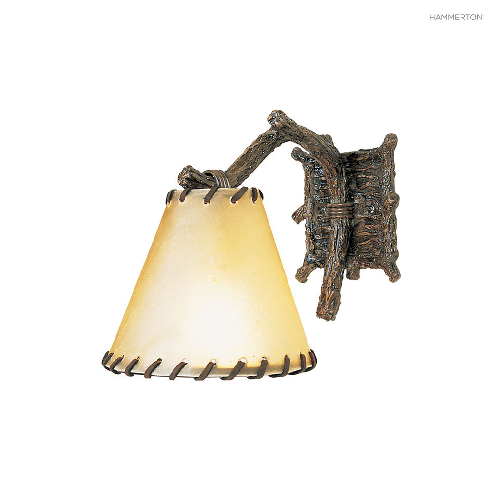ID7014 Log and Timber Sconce