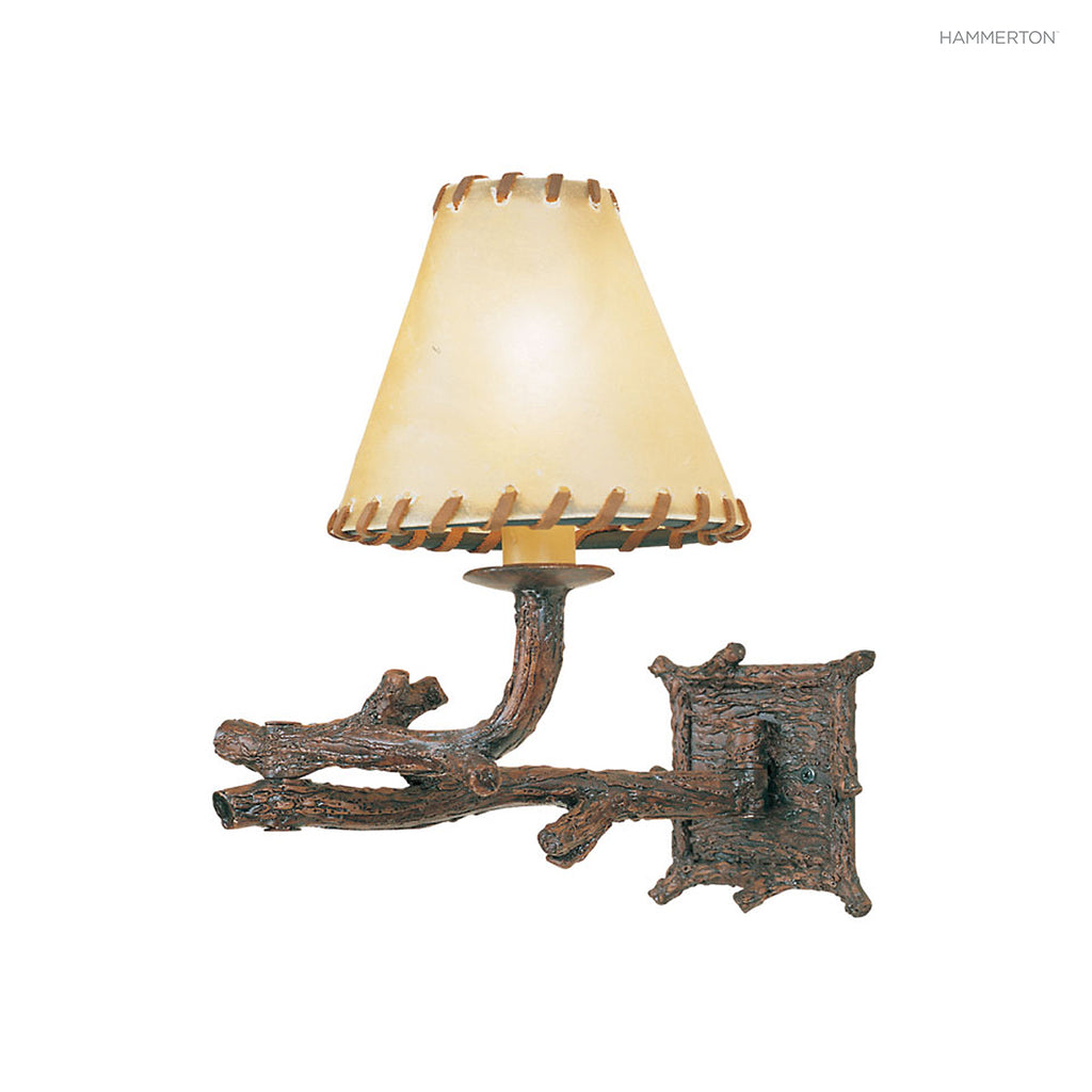 ID7015 Log and Timber Sconce