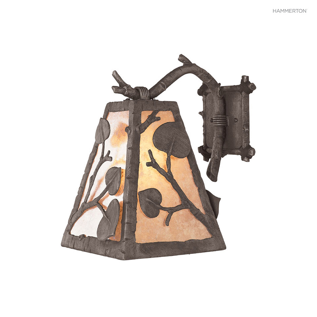 ID7094 Log and Timber Sconce