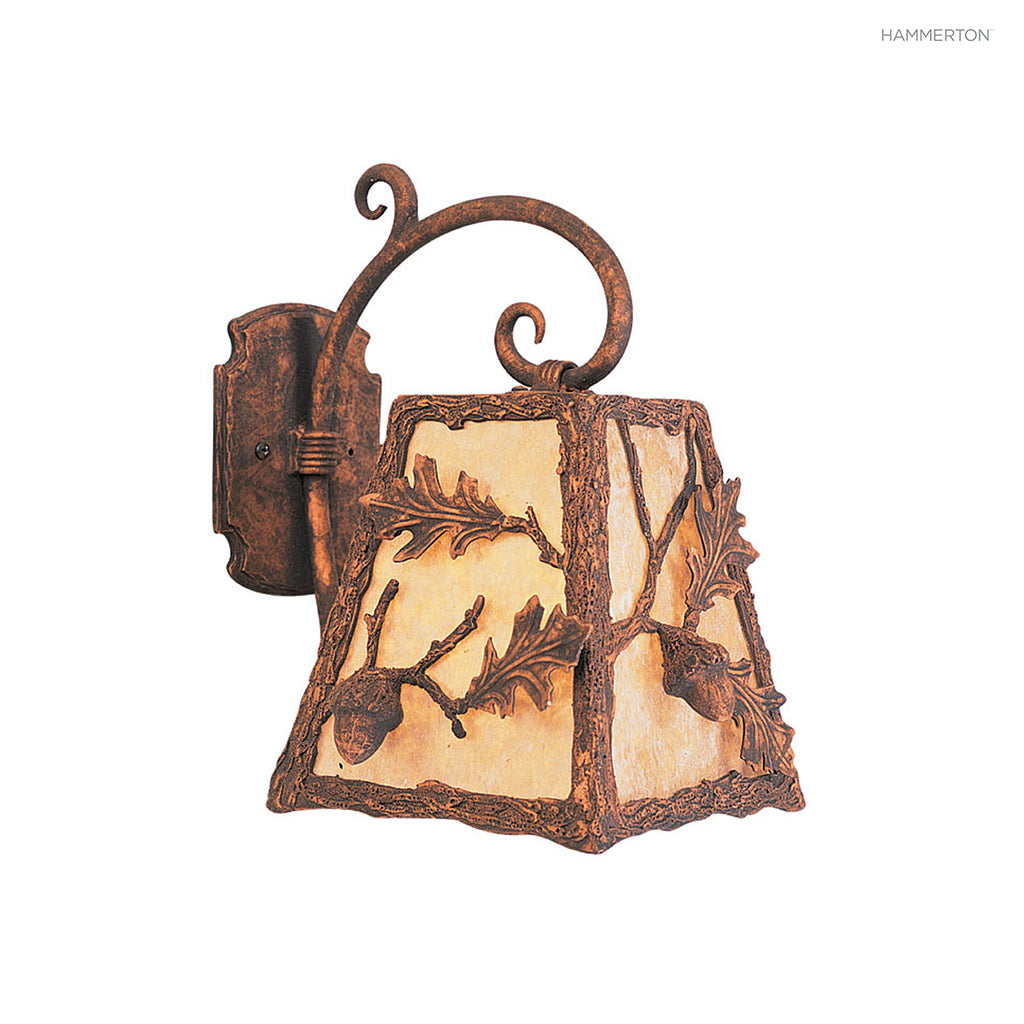 ID7127 Log and Timber Sconce