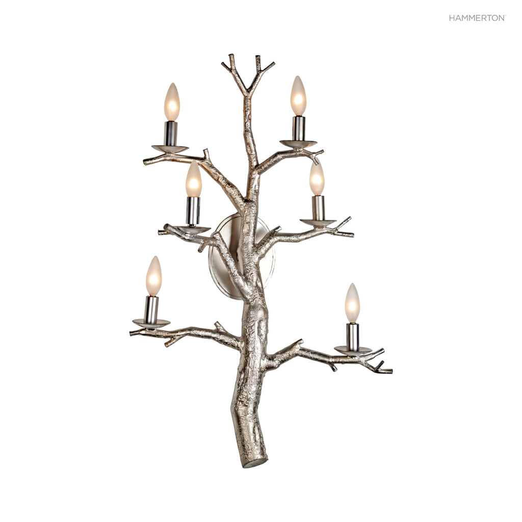 ID7174 Log and Timber Sconce