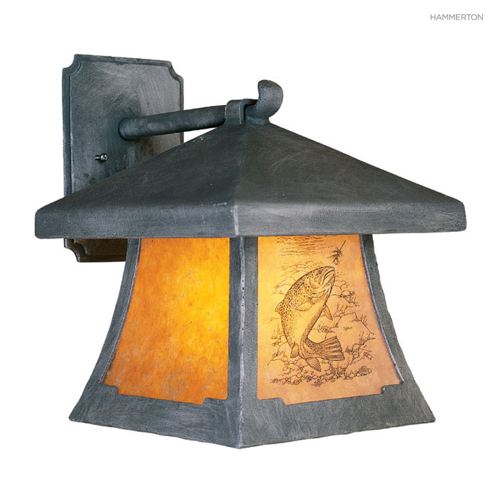 OD4011 Log and Timber Outdoor Sconce