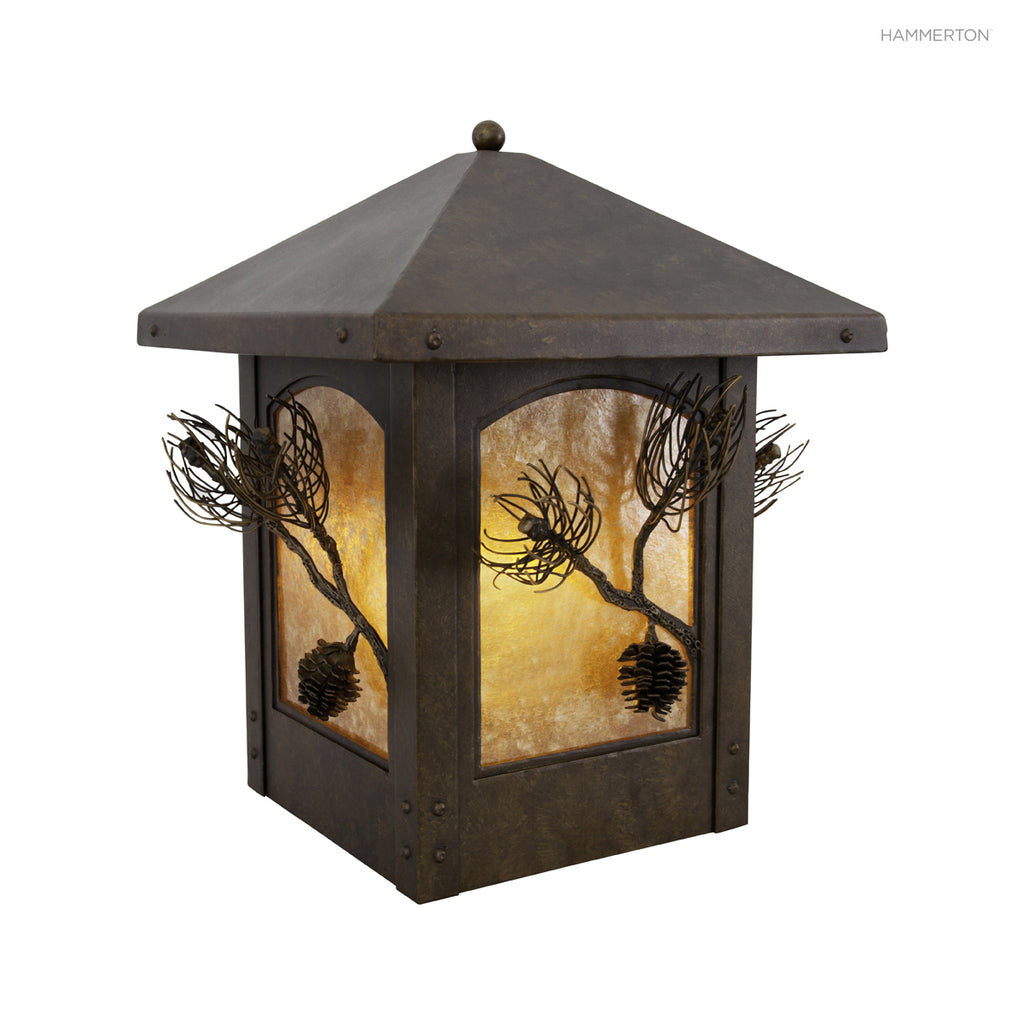OD6034 Log and Timber Outdoor Sconce