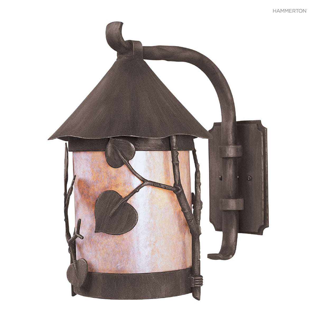 nature inspired lighting. OD7037-S Nature-inspired Lantern Sconce With Round Base And Organic Motif Meticulously Hand Nature Inspired Lighting