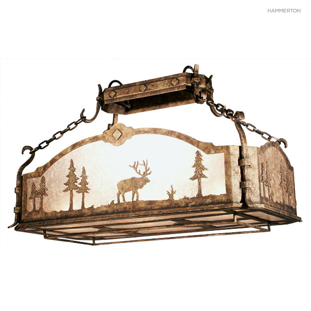 PR6037 Log and Timber Pot Rack