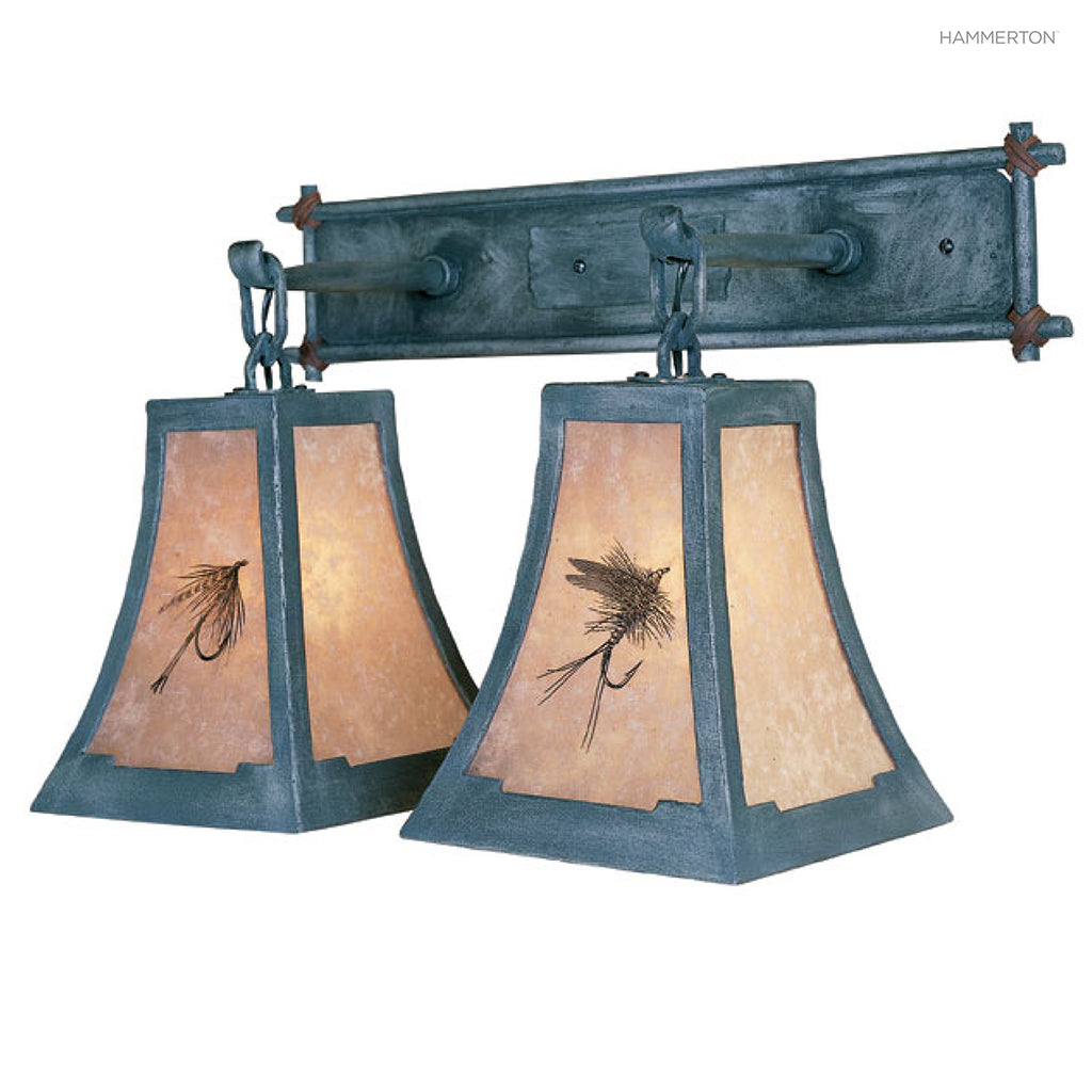 VL4014 Log and Timber Vanity Light