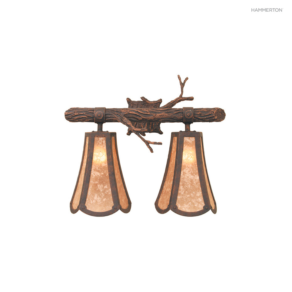 VL7113 Log and Timber Vanity Light