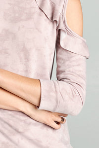 Carley Top Mauve