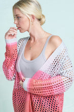 Load image into Gallery viewer, Gradient Pink Cardigan
