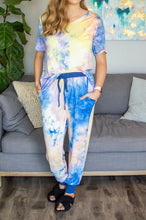 Load image into Gallery viewer, Tie Dye at Dusk Lounge Set