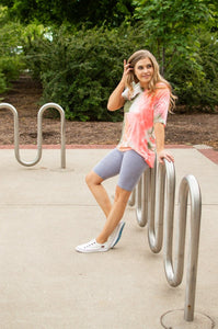 Bermuda Leggings | Grey