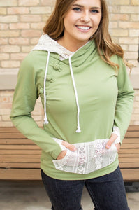 Sage and Lace Hoodie Now Available in Kids!