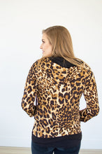 Load image into Gallery viewer, Leopard and Glitz Half Zip