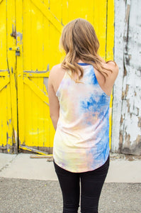 Rocker Tank | Tie Dye at Dusk 🇺🇸
