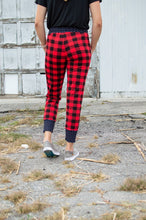 Load image into Gallery viewer, Buffalo Plaid and Polka Joggers- Now available in Kids!