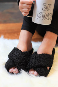 Ultra Fuzzy Sherpa House Shoes