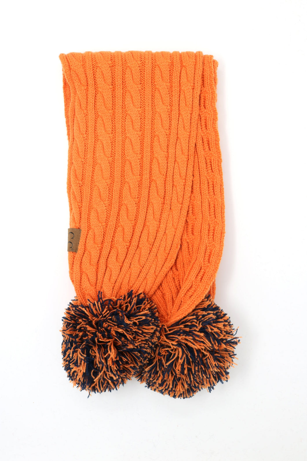GAME DAY POM CC SCARF