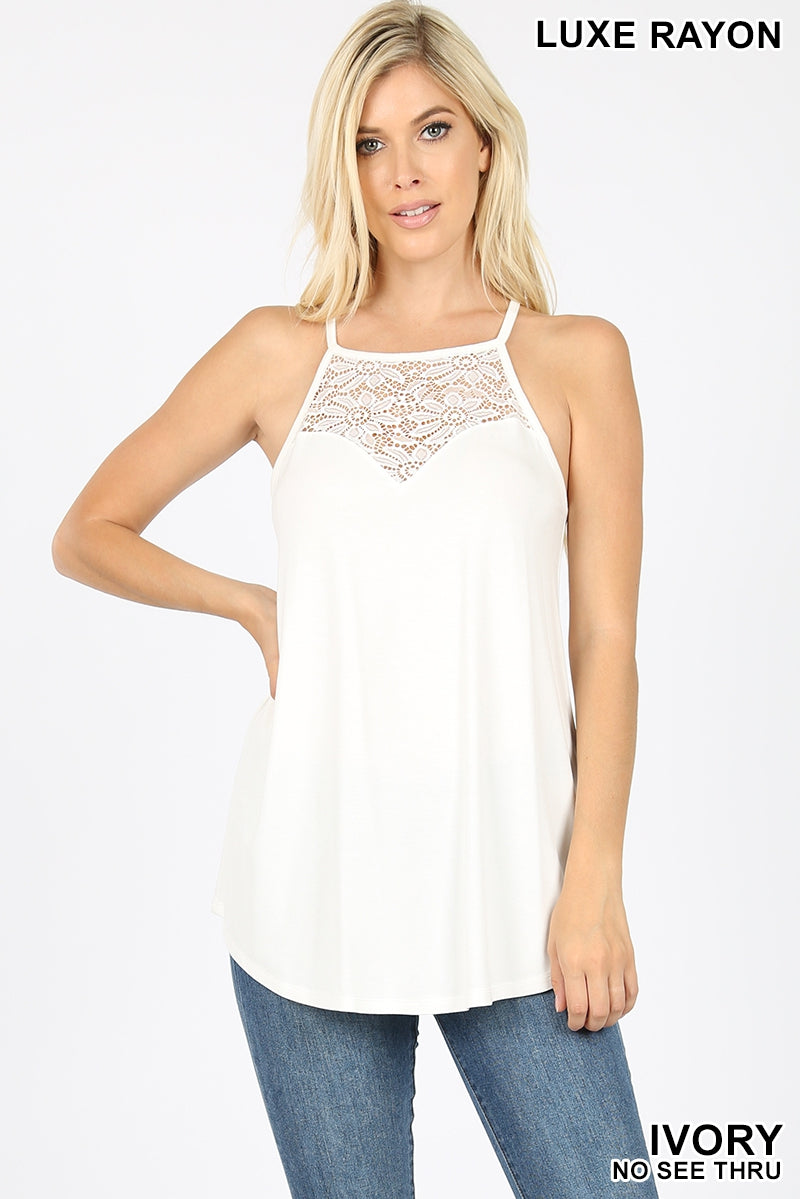 Lace Chest Cami