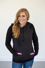 Load image into Gallery viewer, Bewitched Polka Dot Women's Double Hooded Sweatshirt