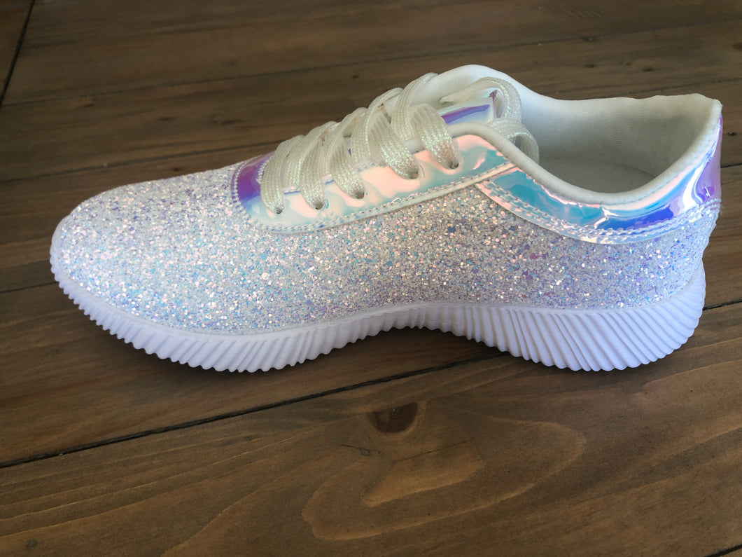 Glitter Tennis Shoes